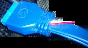 USB3.0内部接続用ケーブルの写真