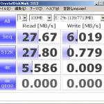 SDカードやUSBメモリのベンチマーク速度の目安