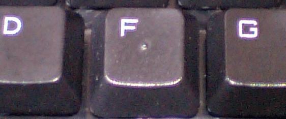 BSKBC02BKのFキーの写真