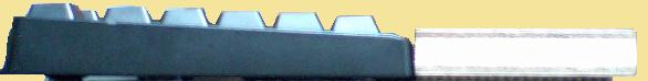 BSKBC02BKとリストレストを横から見た写真