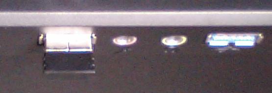 m-bl21dbのUSBレシーバーの正面からの写真