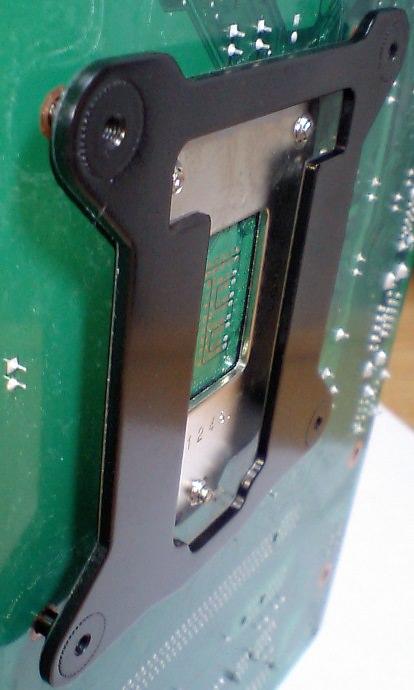 bs-1156aとILMバックプレートの隙間の写真