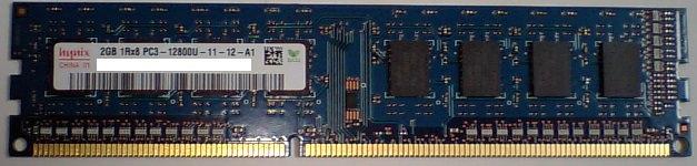 hynixの容量2GBのメモリの写真