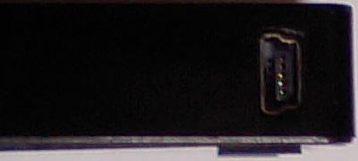 lhr-pbgu2の本体側端子の写真