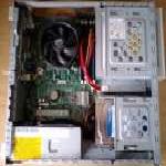 NECのデスクトップパソコンMATEの分解