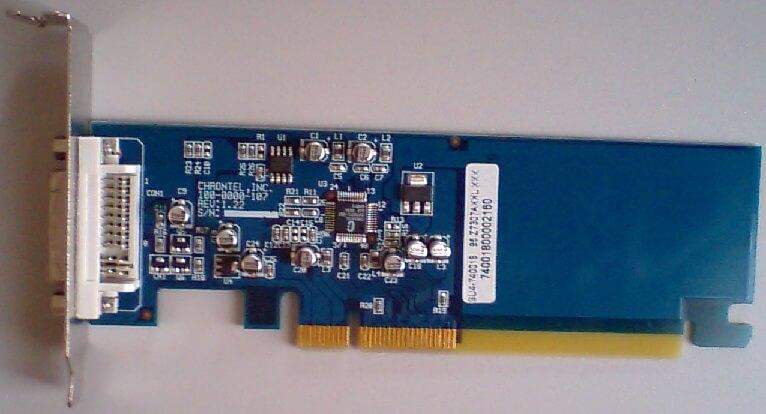 equiumのdviカード(ビデオカード)の写真